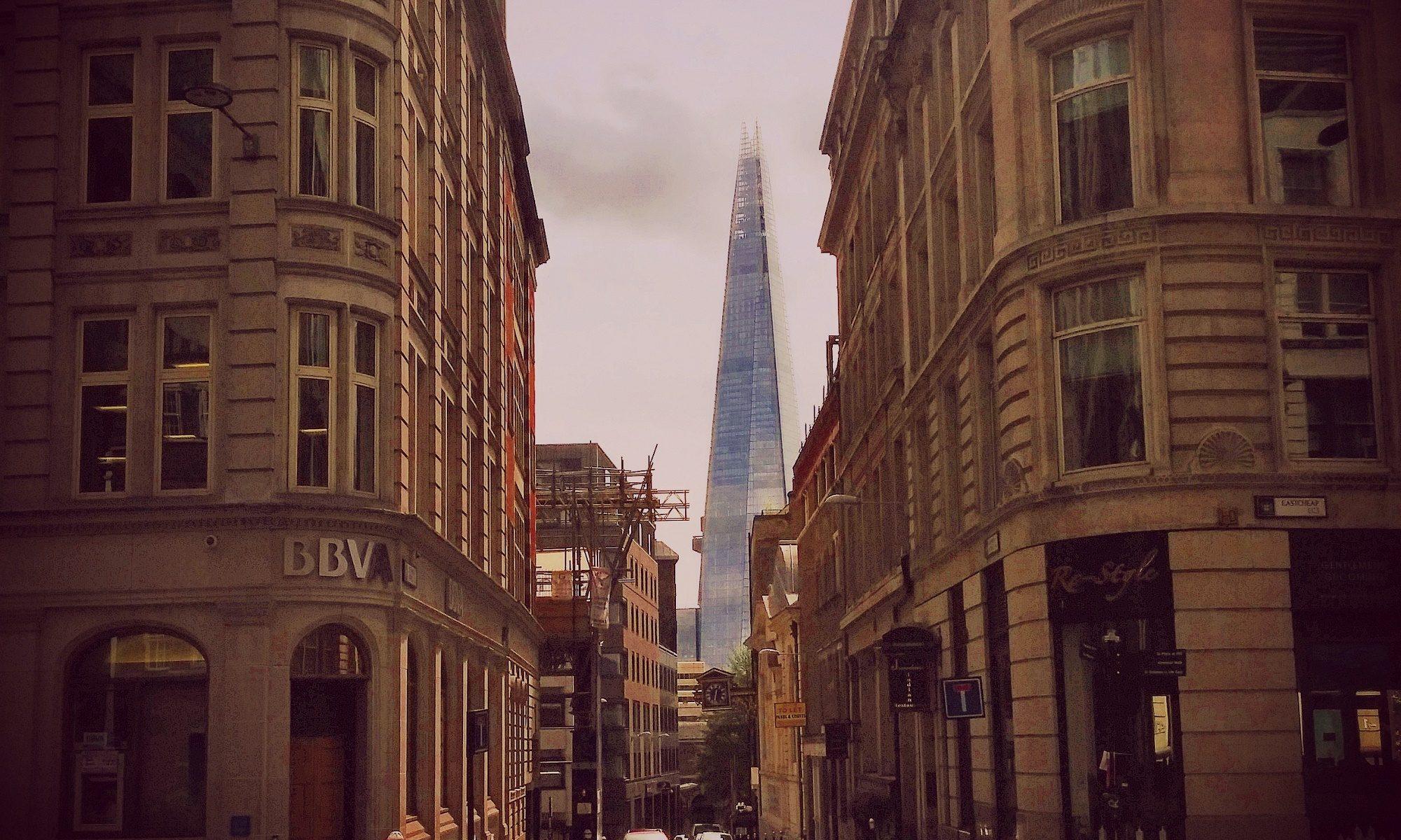 London Street - Shard in Distance